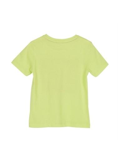 Silversun Kids Erkek Çocuk Baskılı Kısa Kollu Tişört- Bk 215691 Yeşil